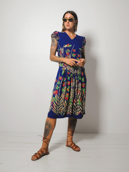 Botanical Butterfly Dress