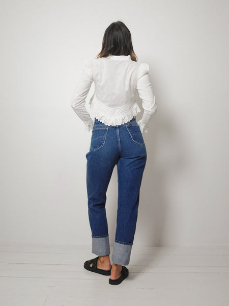 Classic Wash Lee Jeans 28x34