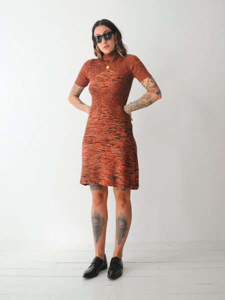70's Roncelli Sweater Dress