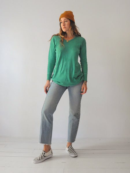 70's Kelly Green Military Thermal