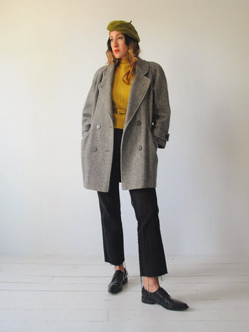 Sophie Tweed Wool Coat
