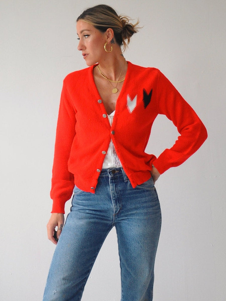 60's Arrow Knit Cardigan