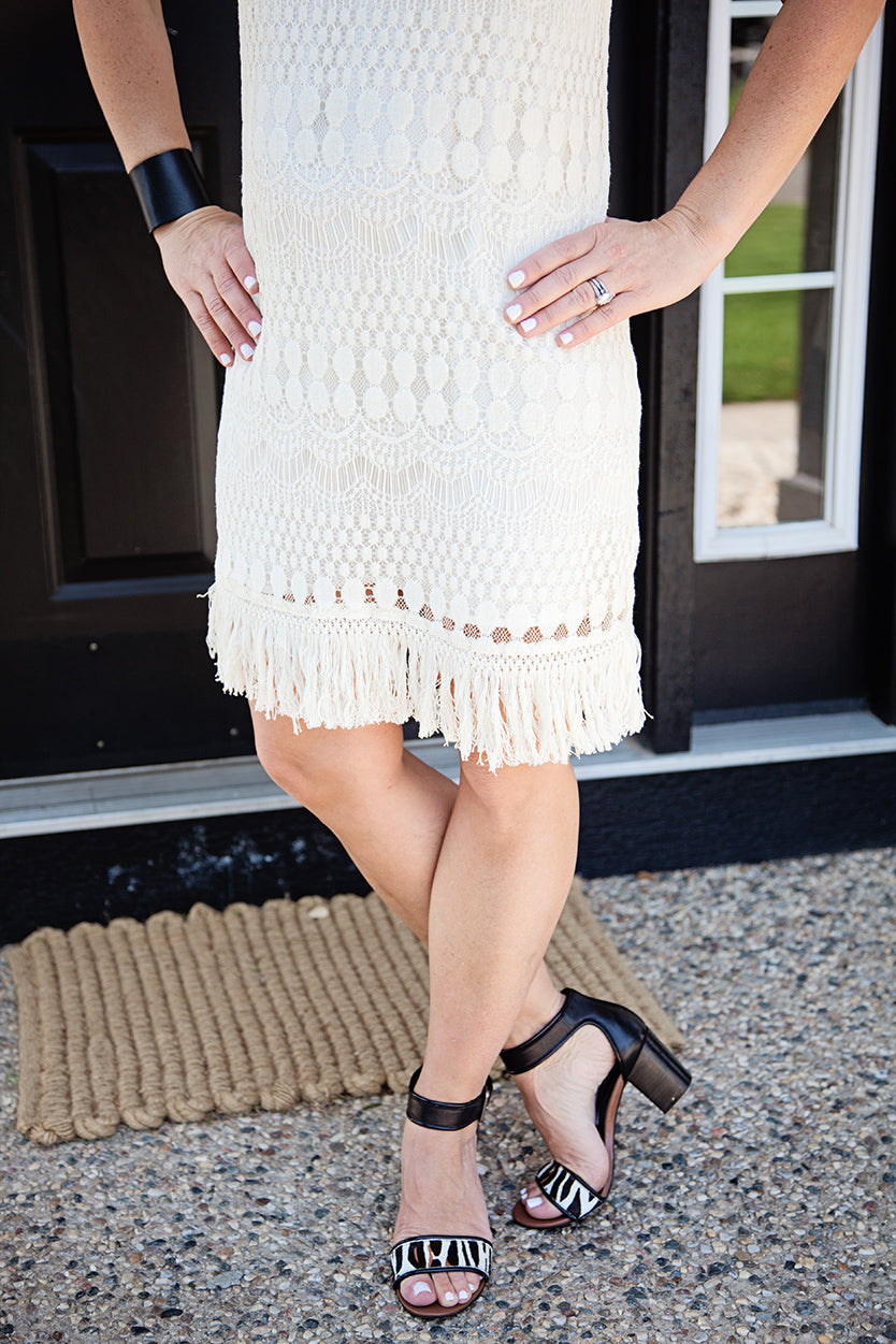 BB Dakota Crochet Lace Dress