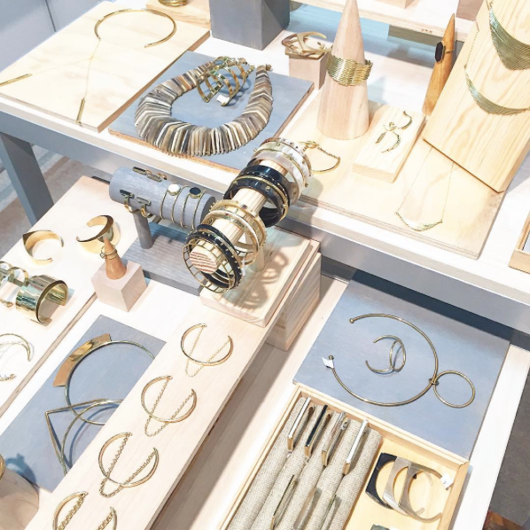 Soko jewelry at Stylemax in Chicago