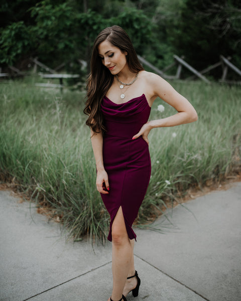 Huntress Strapless Dress