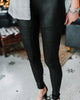 Naomi Moto Leather Leggings