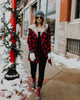 Miles Buffalo Plaid Coat