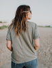 Free People Keep It Simple Tee (Green or Black)