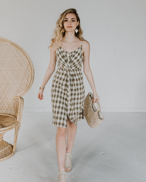 Pretty As A Picture Gingham Dress