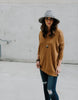 Carry On Tunic Sweater (Gold or Camel)
