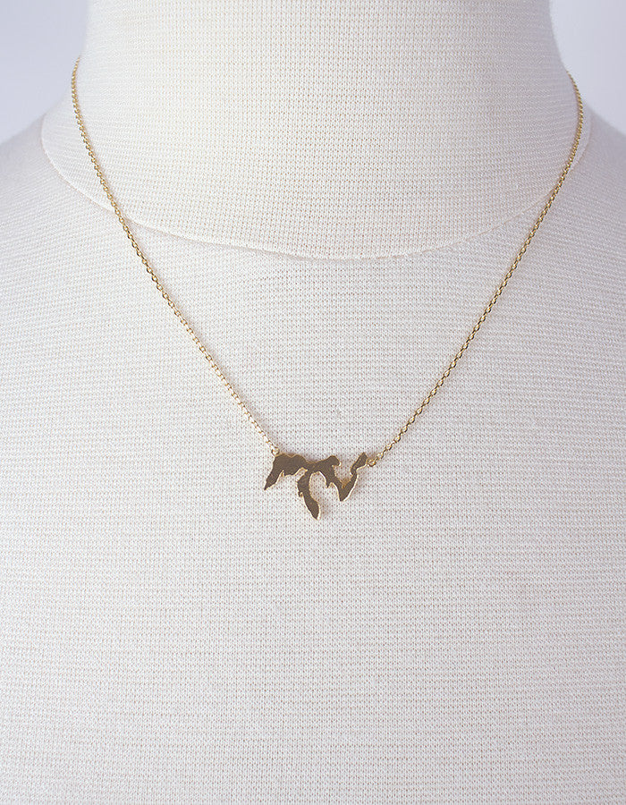 Great Lakes Necklace in Gold, Rose Gold or Silver