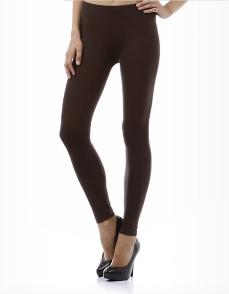 M. Rena Basic Leggings (Brown, Black, Navy)