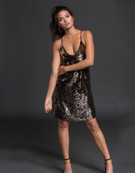 After Hour Sequin Dress