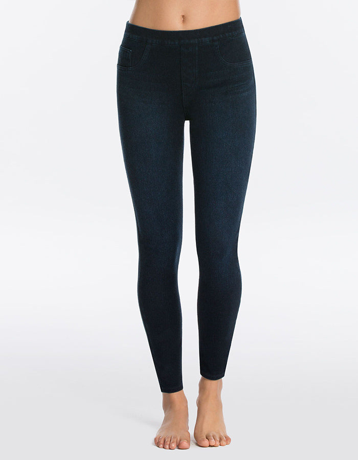 Spanx Jean-ish Leggings in Twilight or Black