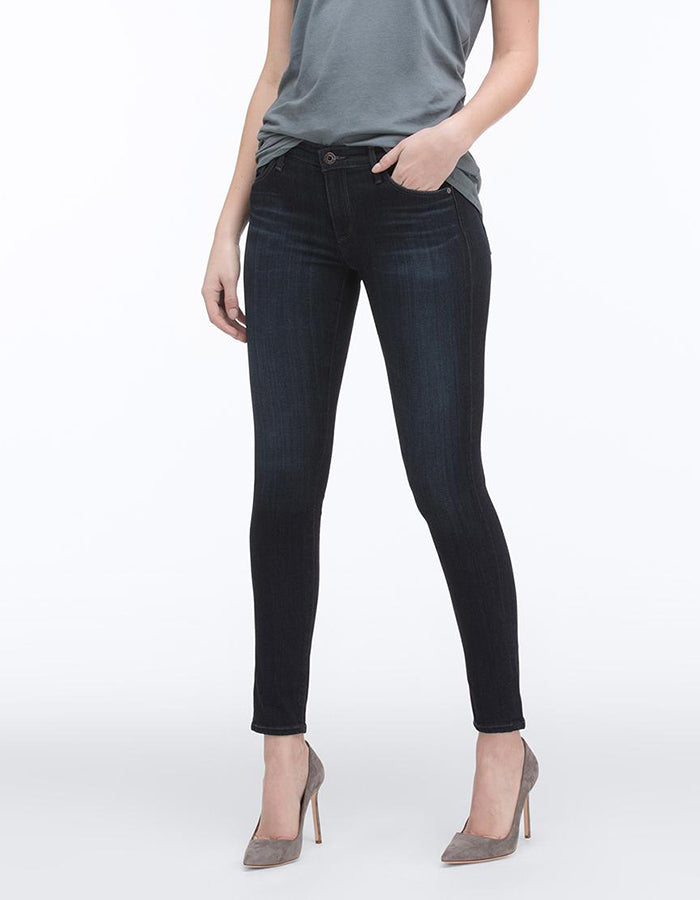 AG Jeans Coal Grey Ankle Legging