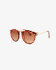 Against Nudity Angie Tortoise Sunglasses