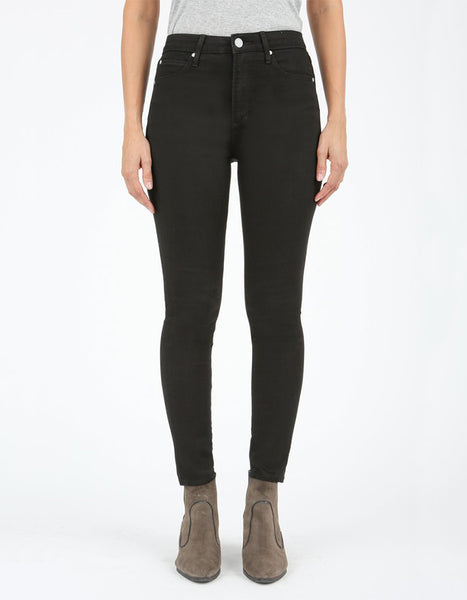 AOS Heather High Rise Skinny Jeans - Black