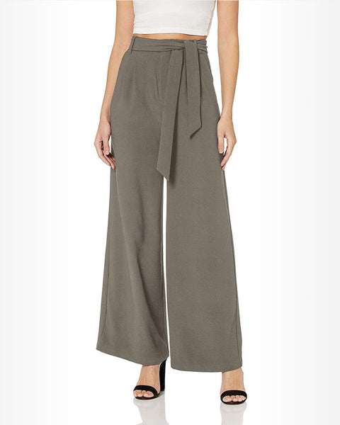 BB Dakota High Waisted Tie Pants