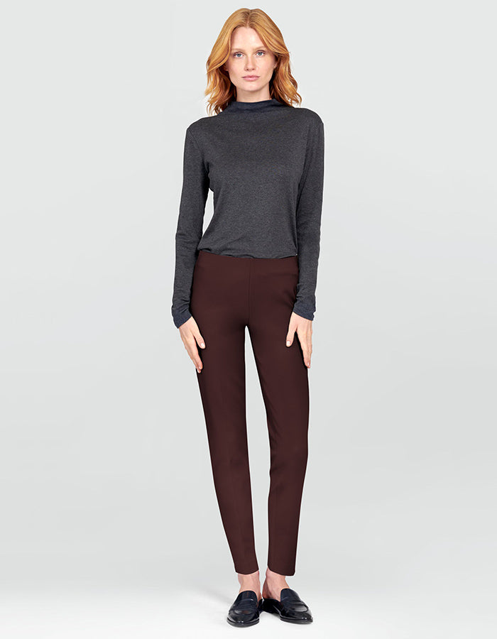 Ecru Springfield Dress Pants in Raisin