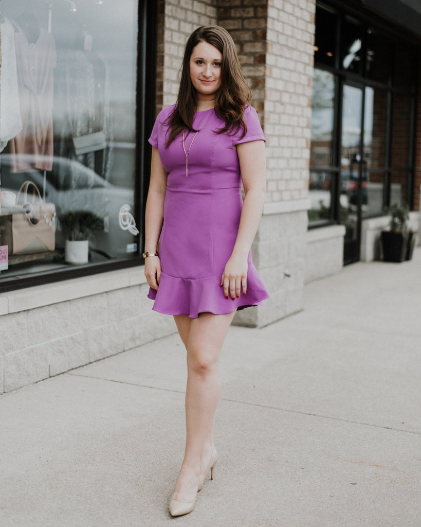 Flirt On Fit And Flare Dress