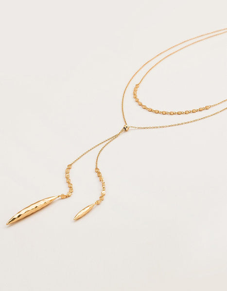 Gorjana Chloe Layered Lariat Necklace