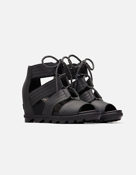 (FLASH SALE!) Sorel Joanie II Lace Sandal in Black