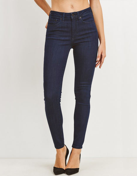 "Just Black 10"" High Rise Super Skinny"