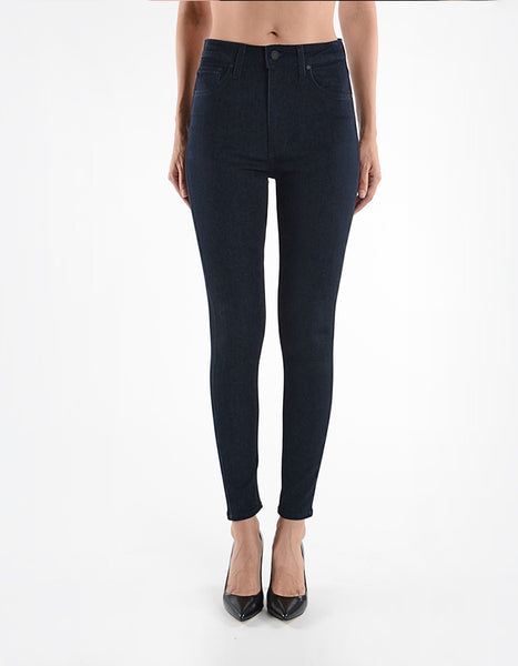 "Just Black 11"" High Rise Skinny"