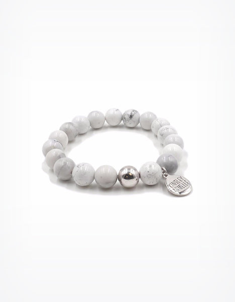 Kinsley Armelle White Pepper Stretch Bracelet