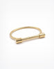 Kinsley Armelle Gold Bar Bracelet