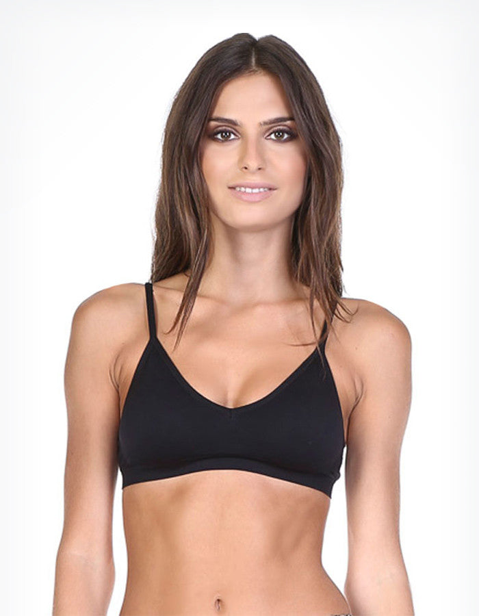 Lazy Day Bralette (Black, Nude, or White)