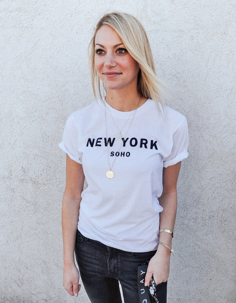New York SoHo City Tee