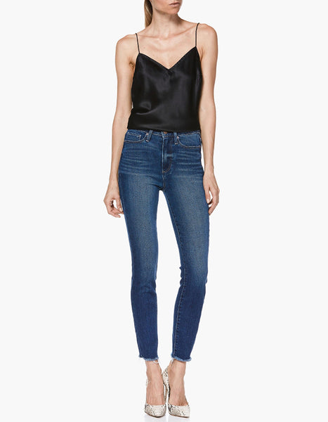 Paige Margot High Rise Ankle Skinny in Townsend