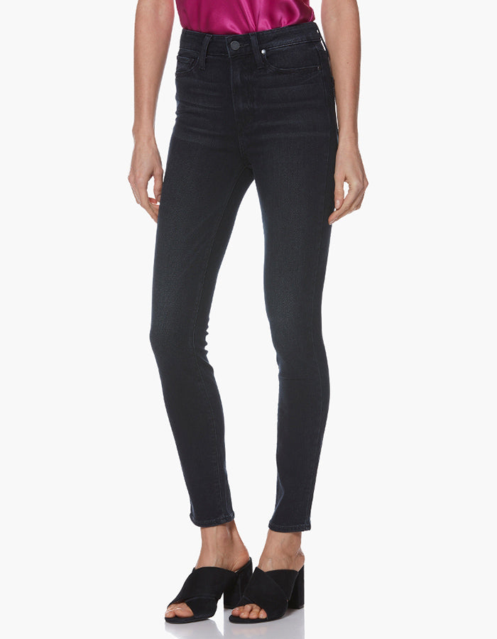 Paige Margot High Rise Ankle Skinny in Messina