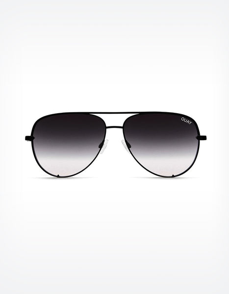 Quay High Key Mini Sunglasses in Black Fade (SOLD OUT)