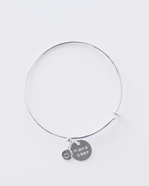 6a9156c01 Mama Bear Bangle Bracelet in Sterling Silver – Sparrow Boutique