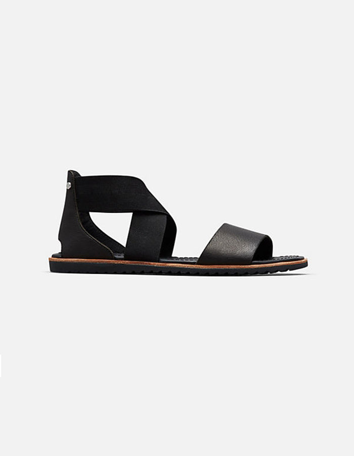 Sorel Ella Sandal in Black