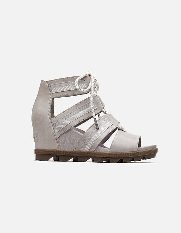 Sorel Joanie II Lace Sandal in Dove Grey