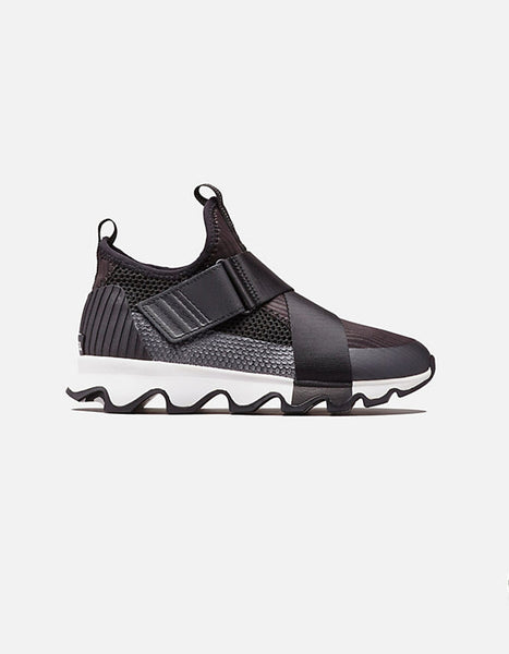 Sorel Kinetic Sneakers in Black