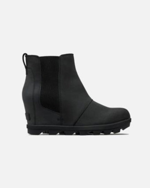 Sorel Chelsea Wedge II Boot in Black
