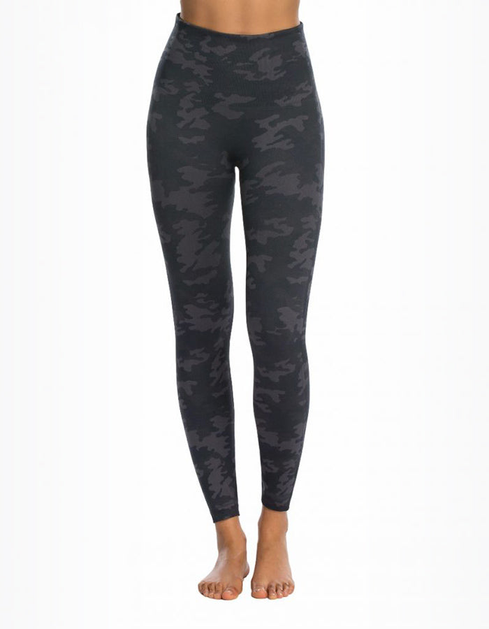 Spanx Seamless Camo Leggings (Black or Green)