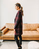 Ava Plaid Long Cardigan