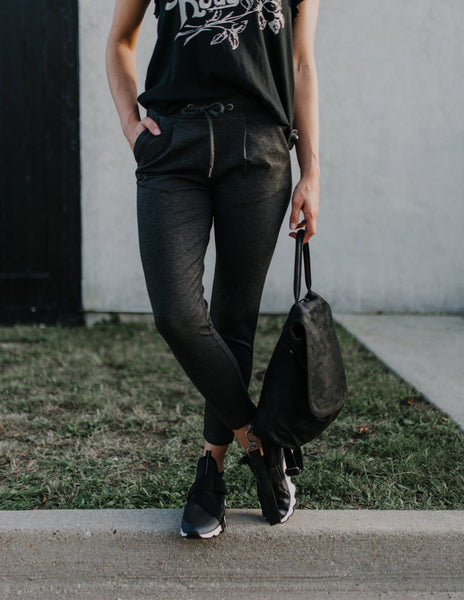 Kate Joggers in Charcoal