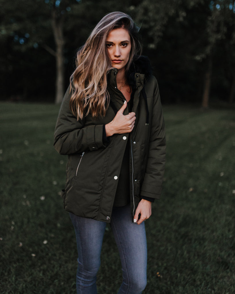 Dina Hooded Parka