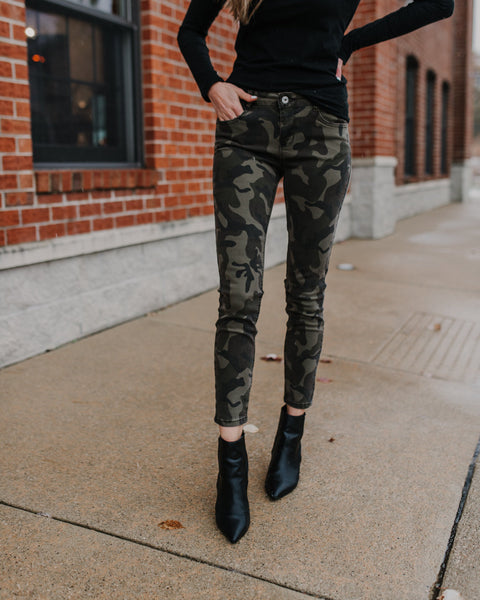 (ONLY 1 LEFT!) Mason Camouflage Jeans