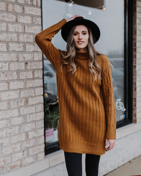 (ONLY 1 LEFT!) Carin Turtleneck Tunic