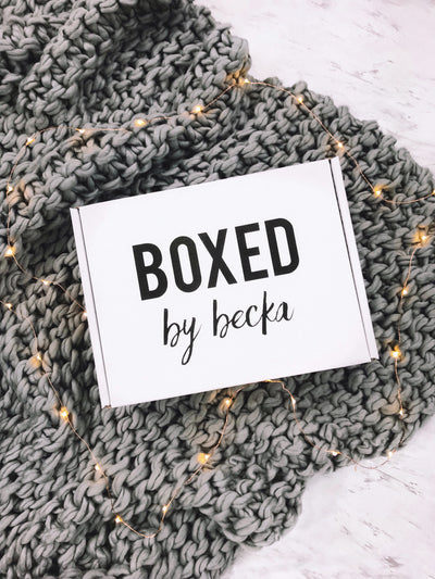 BOXED. by Becka
