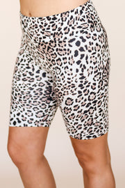 Kiki LaRue Biker Shorts - Light Cheetah