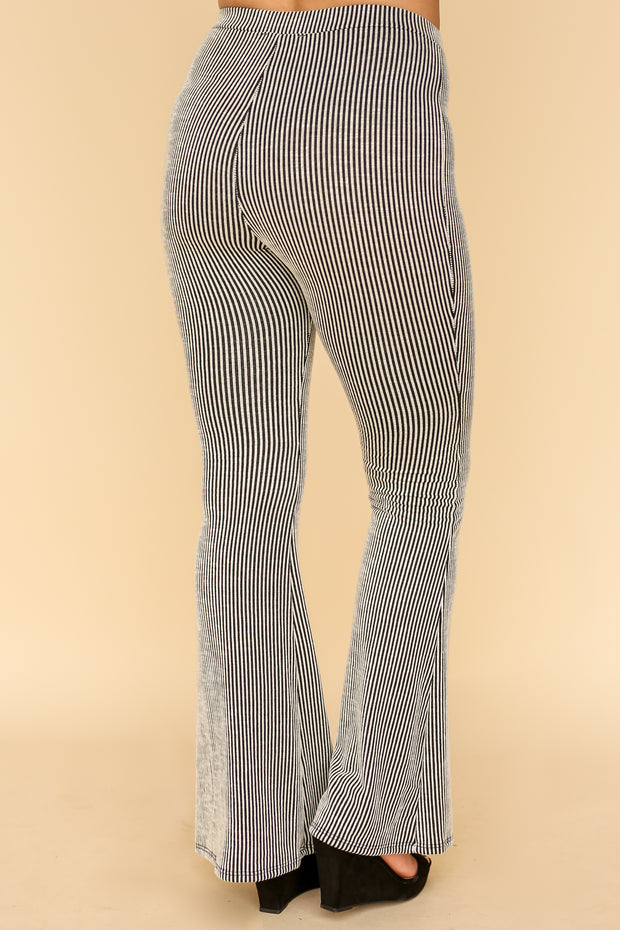 Brianne striped Flare Leg Pants