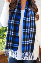 Cold Front Plaid Scarf